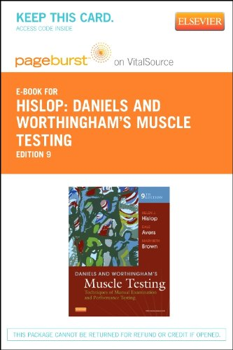 Daniels and Worthingham's Muscle Testing - Elsevier E-Book on VitalSource (Retail Access Card): Techniques of Manual Examination, 9e PDF