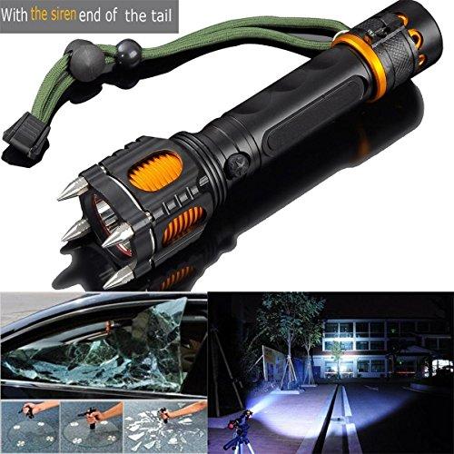 New-2000LM-6-Modes-Tactical-Self-Defense-Audible-Alarm-Cree-XM-L-T6-LED-Flashlight-Aluminum-Alloy