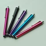 SODIAL- 10 Pcs Stylus Set Aqua Blue/Black/Red/Pink/Purple Stylus/styli Touch Screen Cellphone Tablet Pen for iPhone 4G 3G 3GS iPod Touch iPad 2 3 SONY PLAYSTATION PSP PS VITA Motorola Xoom, Samsung Galaxy, BlackBerry Playbook AMM0101US, Barnes and Noble