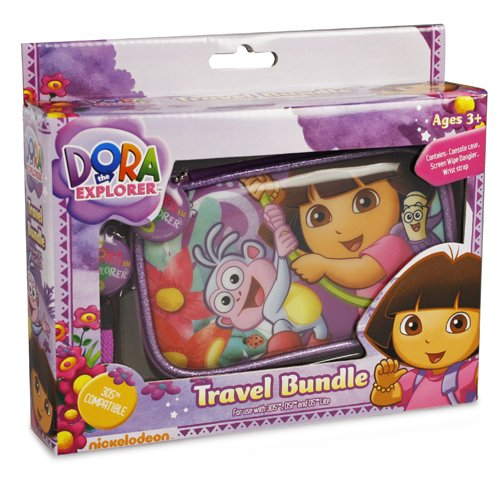 Dora the Explorer - Travel Bundle (Nintendo 3DS/DSL/Dsi)