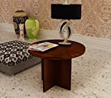 Home Sparkle Wooden Corner Table (Brown)