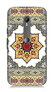 Motorolo Moto G Turbo Edition 3Dimensional High Quality Designer Back Cover by 7C