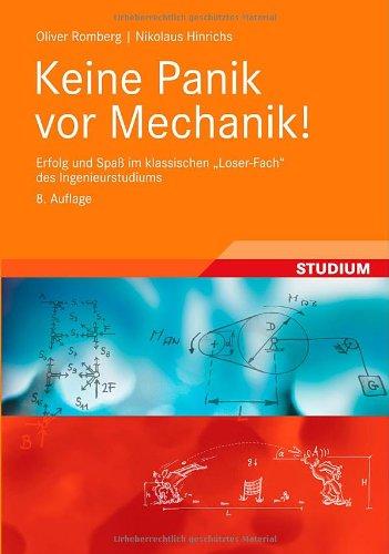 Book Keine Panik vor Mechanik! 8. Auflage