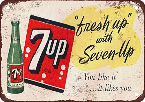 fresh-up-con-7-up-aspecto-vintage-reproduccion-metal-tin-sign-7-x-10-pulgadas