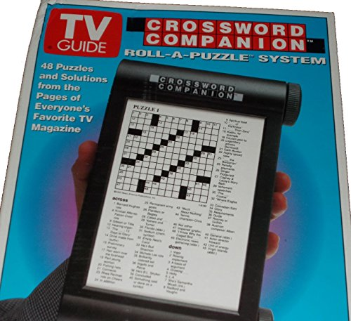 TV Guide Crossword Companion Roll-a-Puzzle System Volume 1 - 1