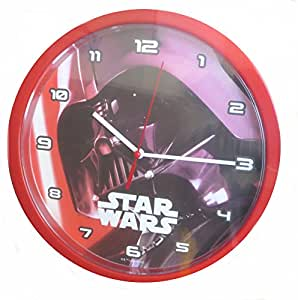 Star Wars Kids Bedroom Wall Clock Darth Vader