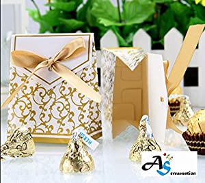Amazon.com: A&S Creavention Bridal Wedding Party Favor Gift Ribbons ...