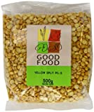 Mintons Good Food Pre-Packed Yellow Split Pea 500 g (Pack of 10)