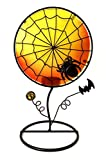 Bejeweled Display® Halloween Spider w/ Stain Glass Candle Holder & Home Decor