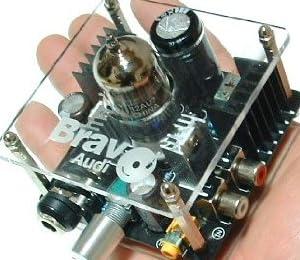 ◆自然で優しい!高音質ミニ真空管ヘッドホンアンプ Bravo V2新品/iPodもPCも音が違います。