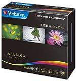 【Amazonの商品情報へ】三菱化学メディア Verbatim DVD-R 4.7GB 1回記録用 「ARLEDIA」 8倍速 10mmクリアブラックケース 5枚パック DHR47HAD5V1
