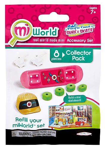 MiWorld Pacific Coast Surf & Skate #2 Collector Pack [SkateBoard]