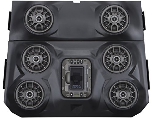 Ssv Works Wp-Rzf3O6 Polaris Rzr Xp1000 4 Seat Bluetooth 6 Speaker Overhead Stereo System