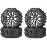 Carson 500105166 - 1:10 Reifen/Felgen Set Buggy, 4 Stück,  schwarz