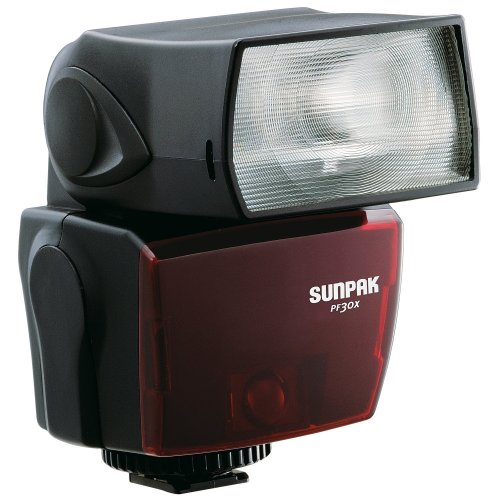 Sunpak PF-30X Flash with i-TTL for Nikon