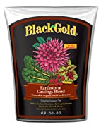 Black Gold 1390302 16-Quart Earthworm Castings