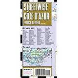 Streetwise French Riviera Map - Laminated Road Map of the French Riviera