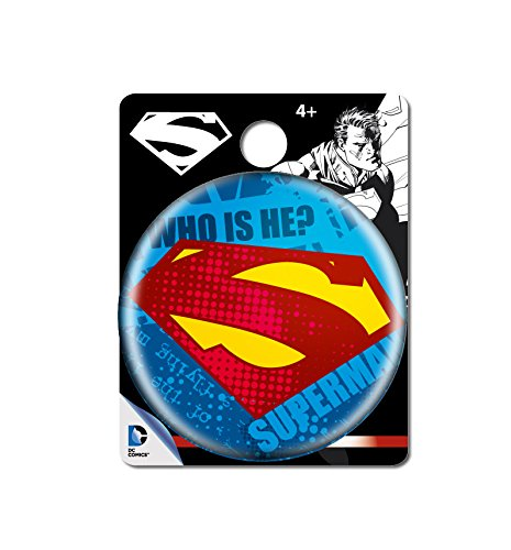 DC Comics Superman Logo Single Button Pin Action Figure