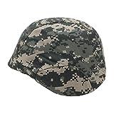選べる US 米軍 フリッツ タイプ ヘルメット 迷彩 カバー付き M88 サバゲー (03、ACU迷彩)