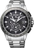 [シチズン]CITIZEN 腕時計 ATTESA アテッサ Eco-Drive エコ・ドライブ 電波時計 ダブルダイレクトフライト 針表示式 【長谷部誠広告着用モデル】 マスコミモデル AT9024-58E メンズ