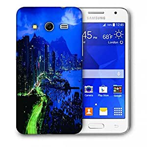 Snoogg City At Night Printed Protective Phone Back Case Cover For Samsung Galaxy Core 2 / Core II G355H