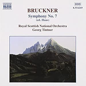 Bruckner: Symphony no 7 / Tintner, Royal Scottish National Orchestra
