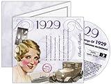 CDCard Company 1929 - The Classic Years CD - Birthday Card CDC1809595