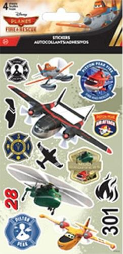 Disney Planes: Fire & Rescue Stickers 4 Sheets - 1