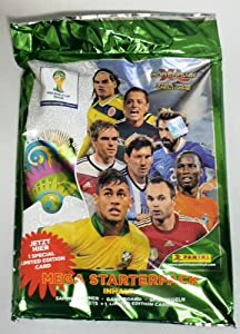 2014 Panini Adrenalyn XL FIFA World Cup Factory Sealed MEGA Starter Kit ! Includes Collectors Binder,5 Booster Packs (30 Cards) and Exclusive Limited Edition Lionel Messi Card