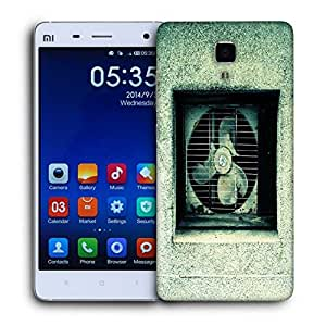 Snoogg Broken Ventilation Fan Printed Protective Phone Back Case Cover For Xiaomi Mi 4 available at Amazon for Rs.15424