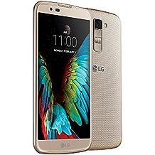 LG K10 4G Dual Sim Mobile Phone (16GB, Black-Gold)