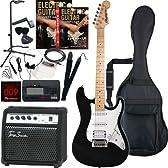 Rayfield レイフィールド エレキギター サウンドステーションオリジナル RST-320M/BK 初心者入門スタンダードセット