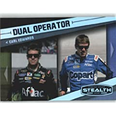 Buy 2010 Press Pass Stealth #60 Carl Edwards DO - NASCAR Trading Cards (Dual Operator) (Racing Cards) by Press Pass