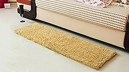 Gifts Supersoft Carpet Mats Entrance doormat Bedroom pad Bay window mat Absorbent non-slip bath mat Beige