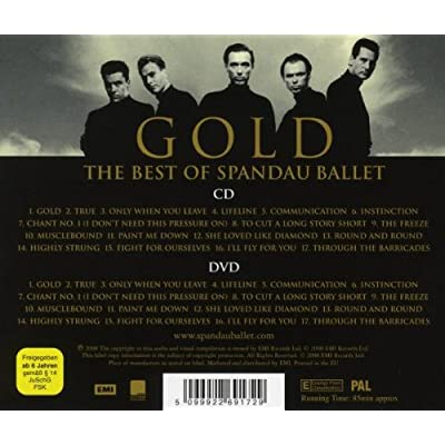 Spandau Ballet - Gold The Best Of Spandau Ballet (CD & DVD 5 FULL) [2009]