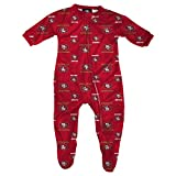 49ers Infant Zip Up Pajamas, 6-9 Months