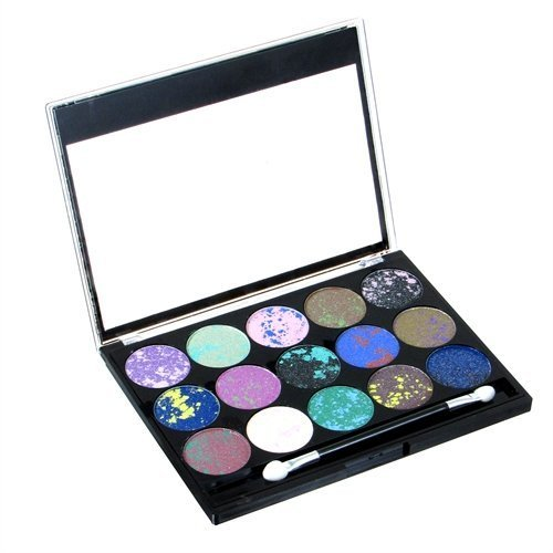 Simply Sweet 15 Well Splatter Eye Shadow Palette