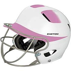 Easton Junior Natural 2Tone Batting Helmet with Softball Mask by Easton