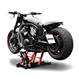 Motorcycle lift ConStands Mid-Lift L black-red for Yamaha FZS 600/1000 Fazer, SR 125/250/500, VMAX , WR 125 R/X, WR 250 R/X, XJ 600 F/N, XJ 600 S Diversion, XJ 900 F, XJ 900 S Diversion, XJR 1200/ SP, XJR 1300, XV 1600 A Wild Star, XV 1700 Road Star Warr