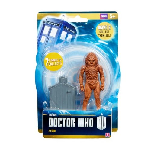 "Doctor Who Wave 2 - ZYGON - 3.75"" Figure - Ages 5+ - 1"