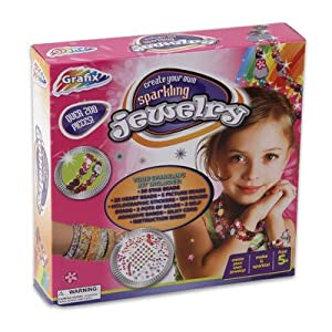 create your own sparking jewelry kit toys games