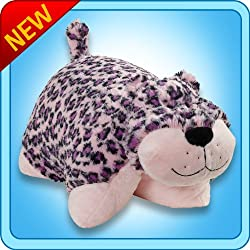 "My Pillow Pet Leopard Pink/Purple 18"" -Large"