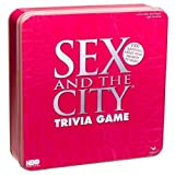51xRL8RFFRL. SL160  Sex &amp; the City Trivia Game