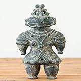 ハニワの土偶 (炭化)(高さ27cm)