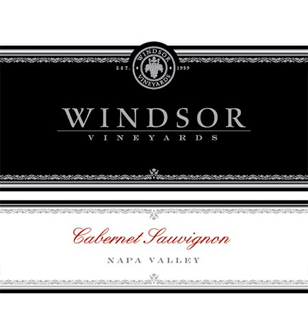 2012 Windsor Cabernet Sauvignon, Napa Valley, Platinum Series,750Ml