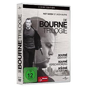 51xRNKuUDpL. AA300  [Amazon] Die Bourne Trilogie [3 DVDs] für 7,99€ zzgl. 3€ Versand