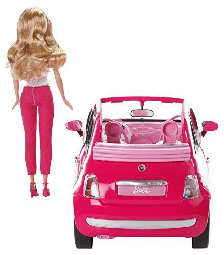 mattel y6857 barbie new fiat 500. Black Bedroom Furniture Sets. Home Design Ideas