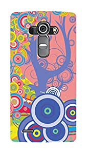 SWAG my CASE PRINTED BACK COVER FOR LG G4 Multicolor