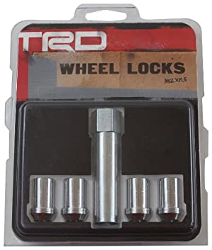 Genuine Toyota Accessories PTR27-34061 TRD Wheel Lock Set