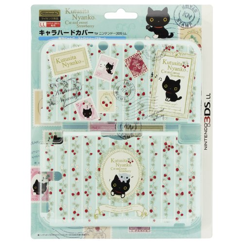 все цены на Nintendo Official Kawaii 3DS XL Hard Cover -Kutusita Nyanko Cat Strawberry онлайн